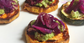 Vegan Avo-Zucchini appetizer