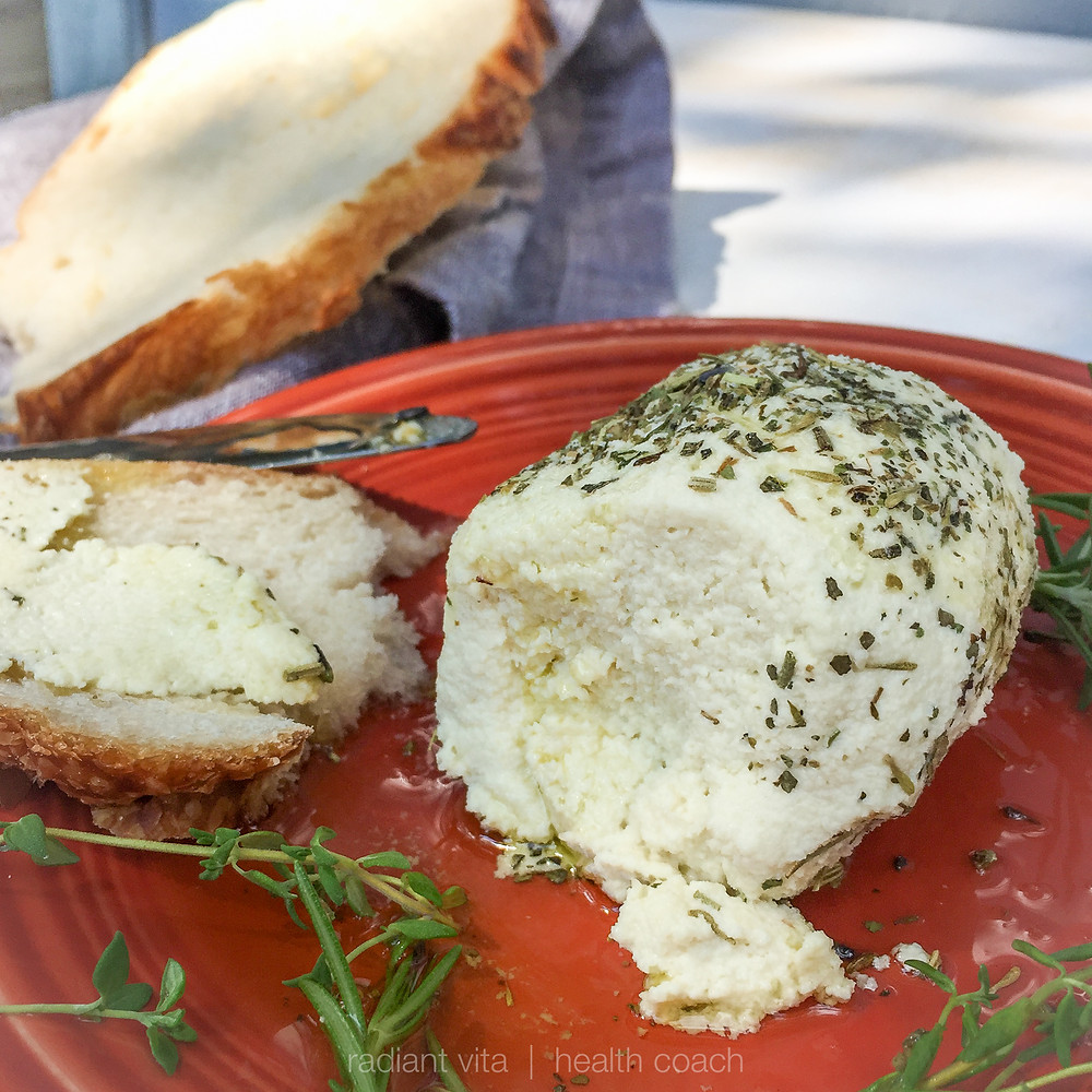 almond cheese spread