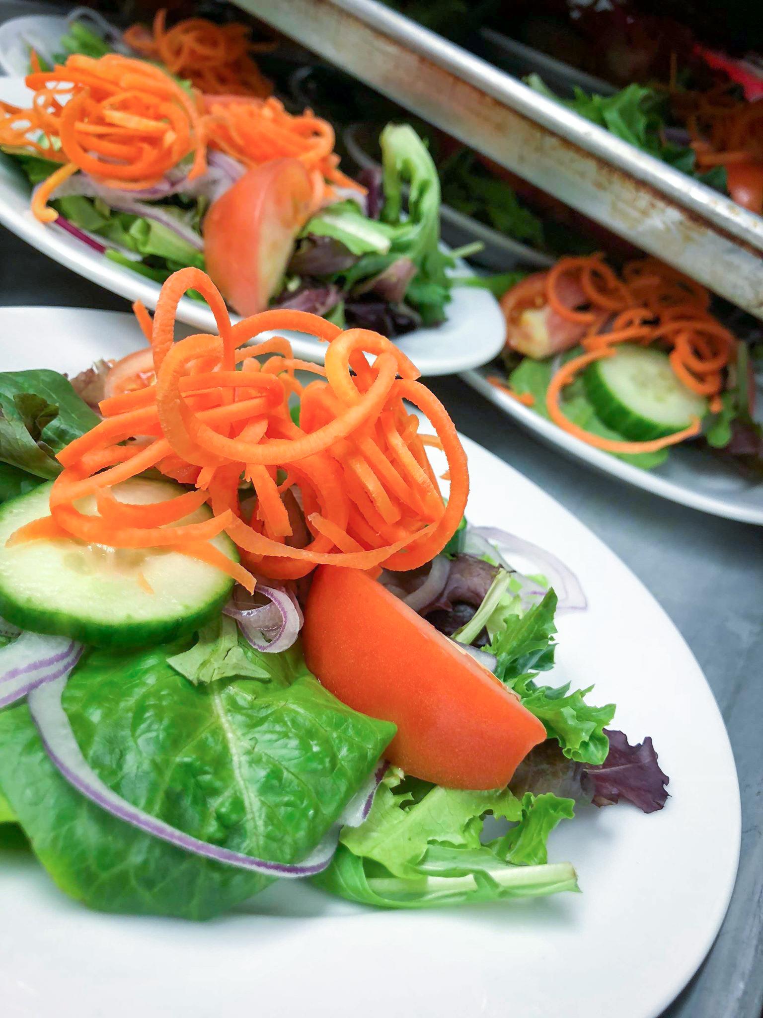 Salade de légumes frais maison