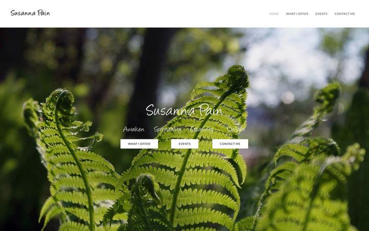 Susanna Pain Home Page