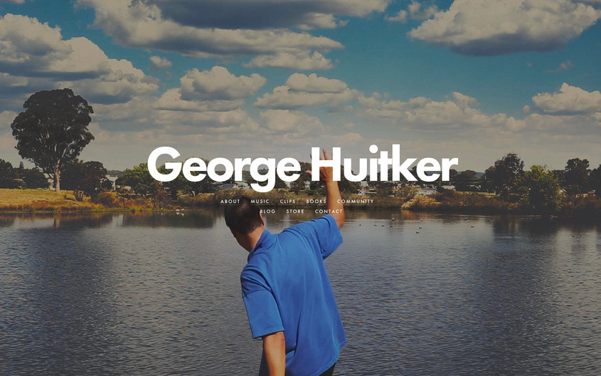 George Huitker Home Page