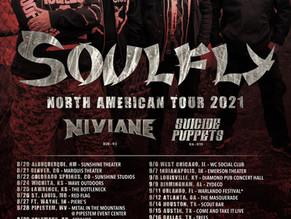 SOULFLY\NIVIANE US TOUR