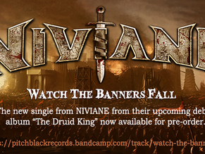 "NIVIANE Release 2nd Single ""Watch The Banners Fall"""
