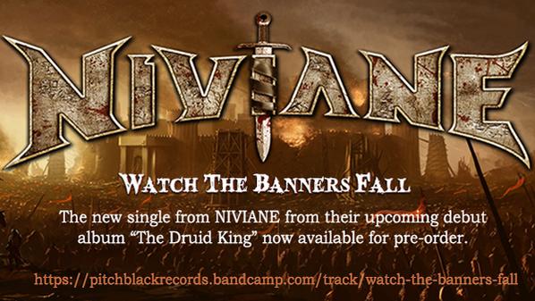 "NIVIANE Release 2nd Single ""Watch The Banners Fall"""