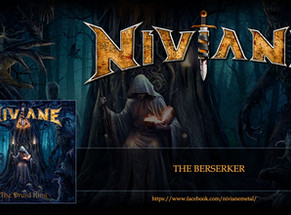 "Niviane releases album artwork, track listing & streaming new song ""The Berserker"""