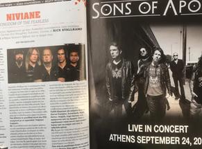 Niviane: Metal Hammer Greece