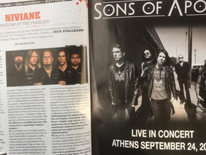 Niviane: Metal Hammer Greece