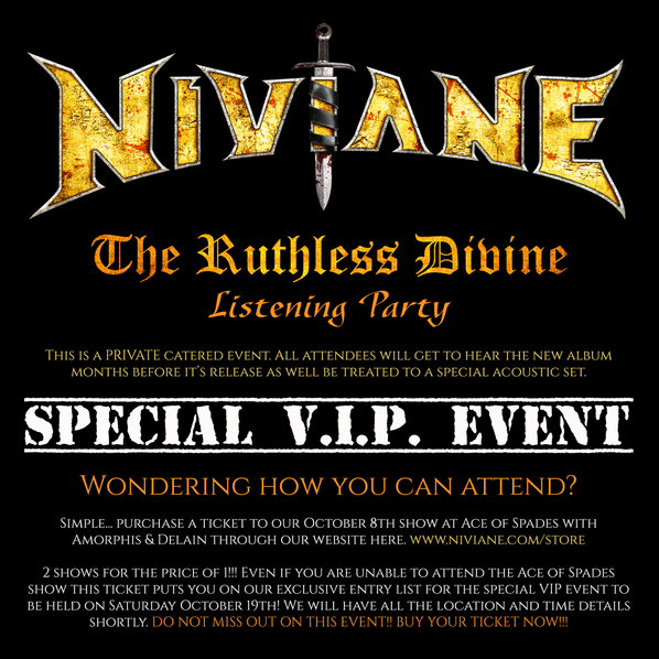 The Ruthless Divine Listening Party & Acoustic Set