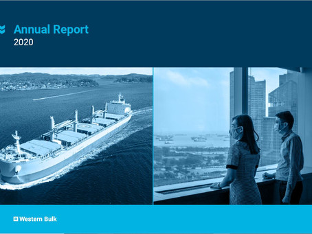 Western Bulk publishes Annual Report  2020