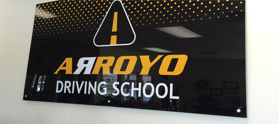 acrylic_lobby_sign_driving_school_sign