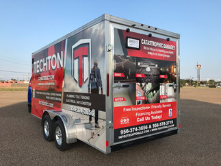 Word of Mouth, The most powerful selling tool.  Impressive Trailer Wrap!