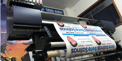 Political sign printing