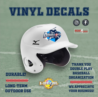 Double Play Baseball: Custom Decals
