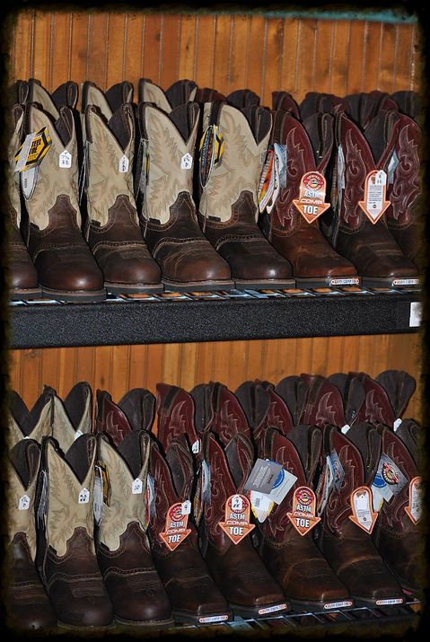 WESTERN AND WORK WEAR BOOTS CASUAL FOOTWEAR