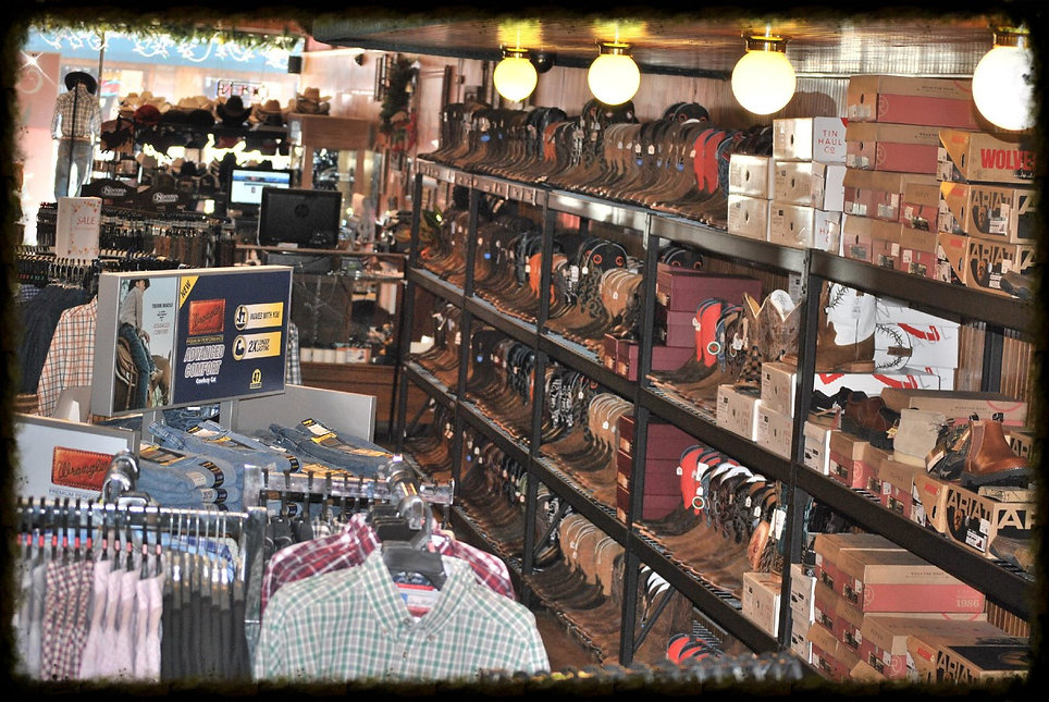 WESTERN AND WORK WEAR MENS CLOTHING