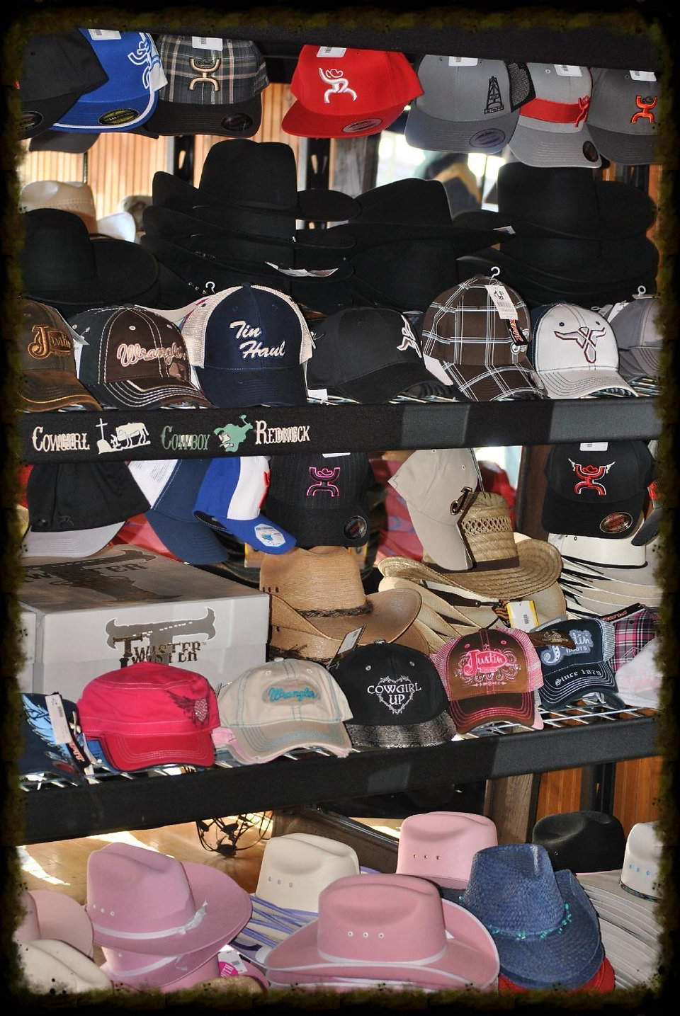 A VARIETY OF HATS