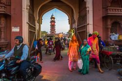 Jodhpur Clock Tower square