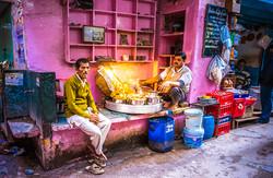 Old Delhi street food