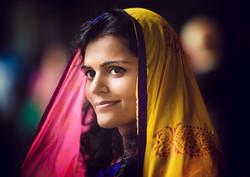 Indian Girl in Delhi