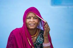 Woman Sabalpura Village