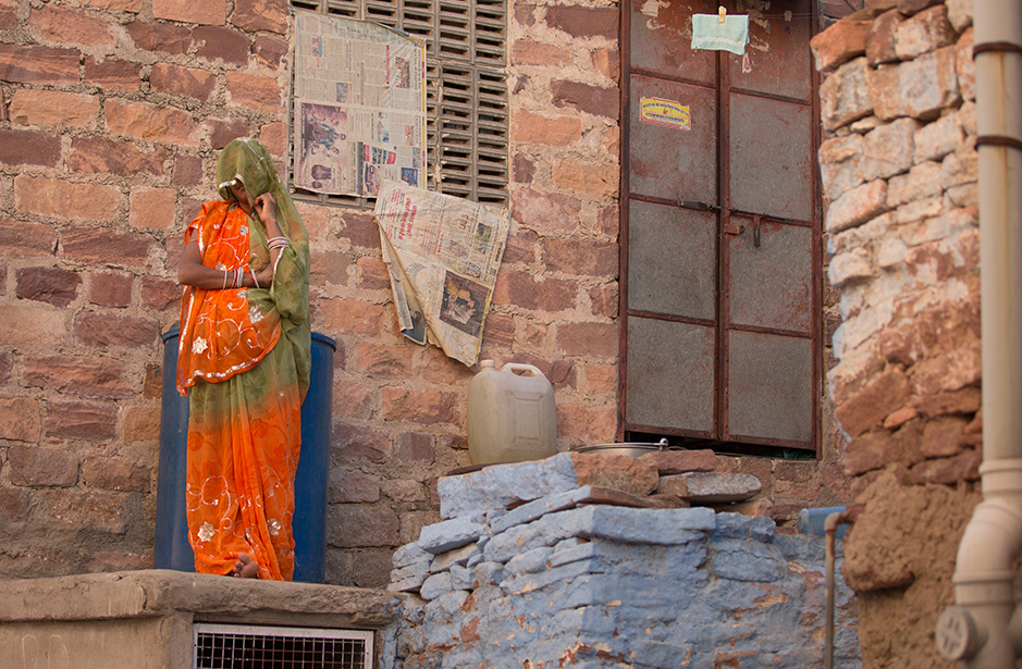 Mysterious woman Jodhpur
