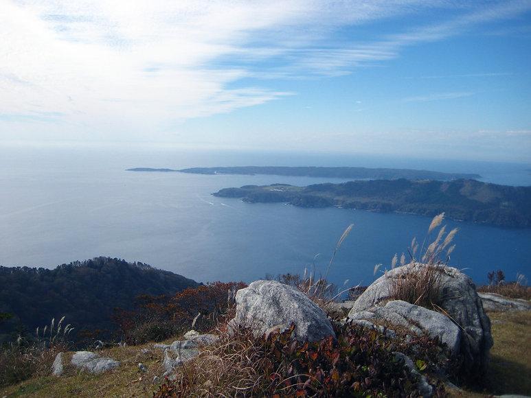 金華山頂上付近からの眺め.JPG