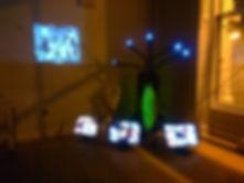 Surveillance Art Installation