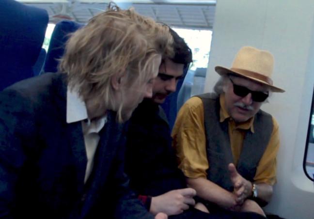 In the train to Izmailovo-market. Nikita Basargin, Peter Rempel, RAS