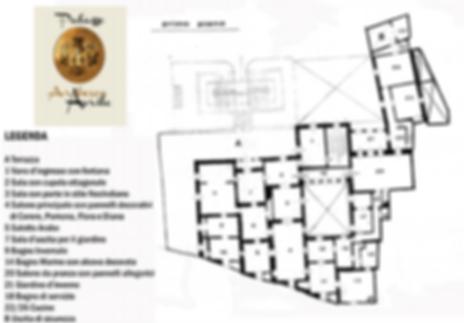 Legenda Palazzo Arabesco Aprile