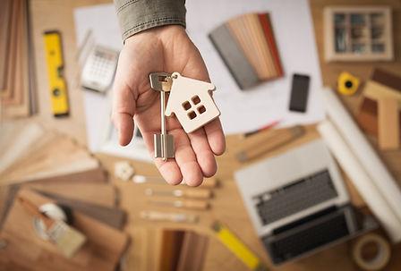 clés de la maison
