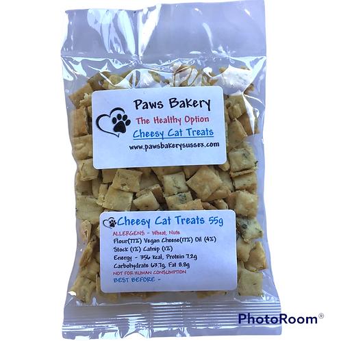 CHEESY CAT TREATS