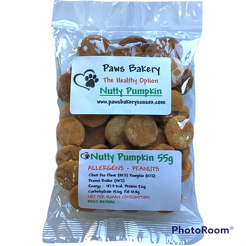 NUTTY PUMPKIN (GRAIN FREE)