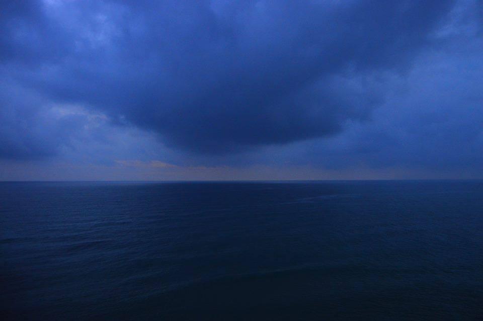upcoming storm in Sperlonga