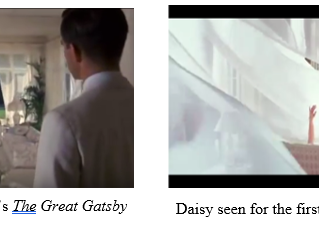 Gatsby vs. Gatsby: searching for realism