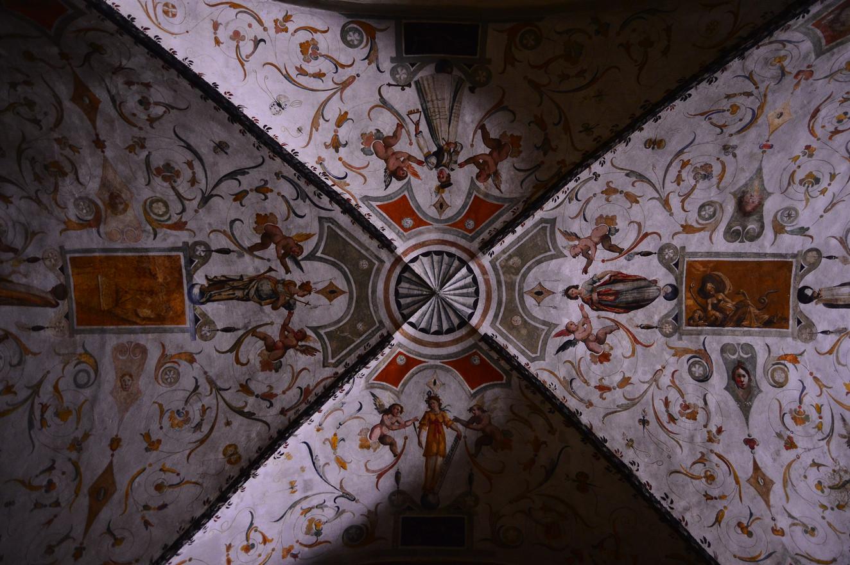 Shading Celing, Farfa Basilica