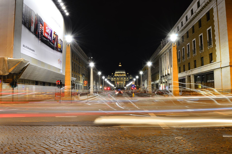 Traffic lighting, St. Peter