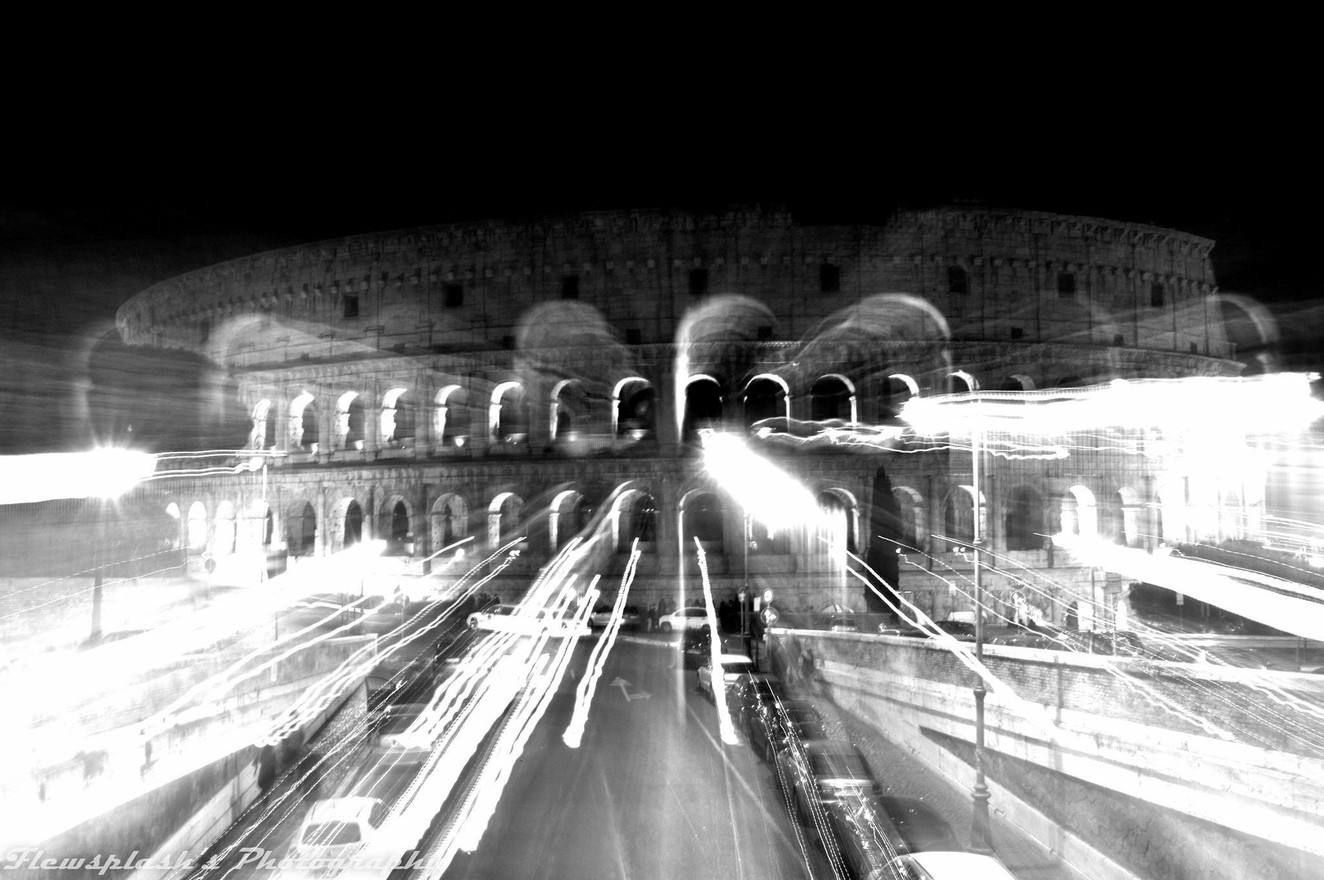 Time-traveling Colosseum