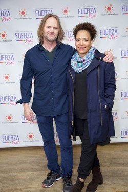 Lee Tergensen and Lauren Velez