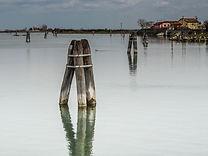 Blick in die Laguna bei Treporti