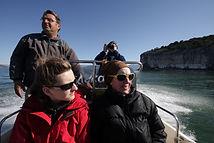 Bootsfahrt zu den Klöstern am Prespasee