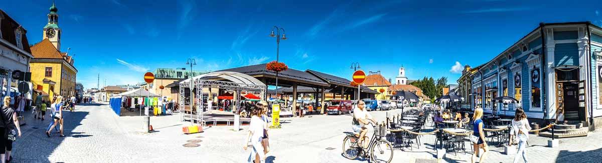 Stadtzentrum von Rauma