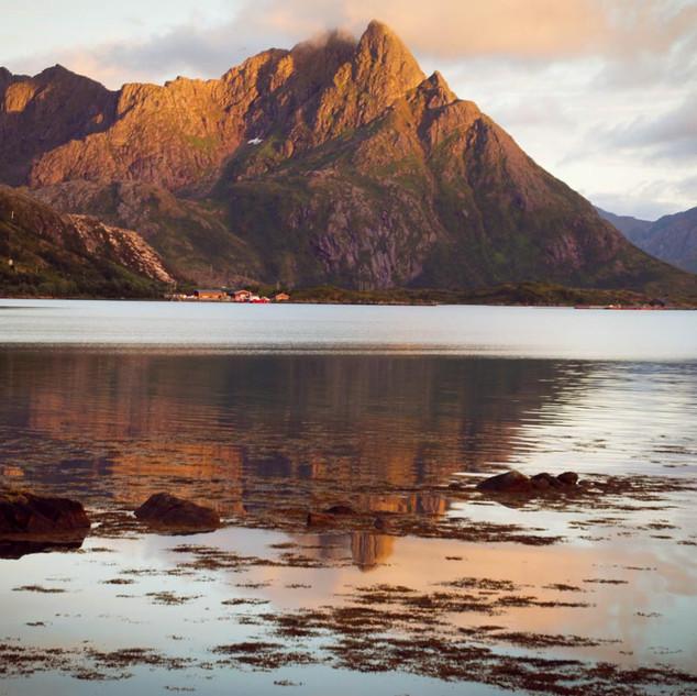 Ankunft im Steinlandsfjorden