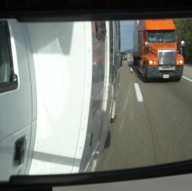 Viel los am Highway