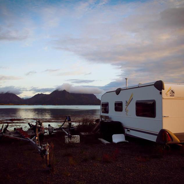Blick in den Steinlandsfjorden