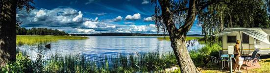 Idyllisches Camp in den Schären östlich von Helsinki