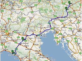 Route Cinque Terre