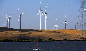 Windenergie im Sacramento Delta