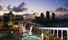 Abfahrt Cruise Terminal Miami