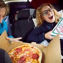 Pizzapause beim Inder auf dem Weg nach Nordfinnland