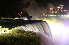 Niagara by night
